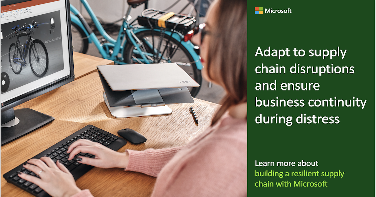 Adapt to supply chain disruptions