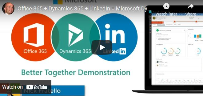 Microsoft Office, Dynamics and LinkedIn for better sales